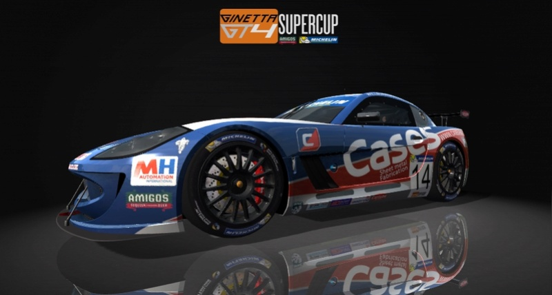 Ginetta GT4 SuperCup Skin Pack & Texture Upgrade Patch Ginett11