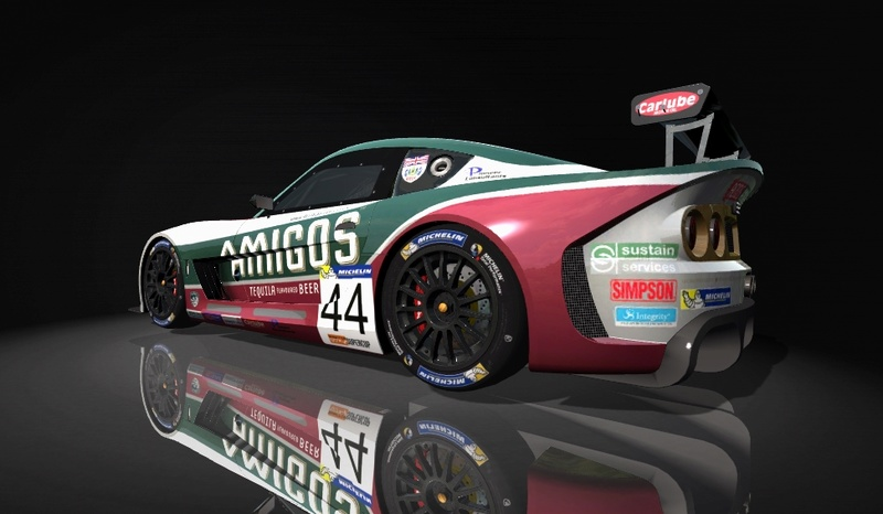 Ginetta GT4 SuperCup Skin Pack & Texture Upgrade Patch Ginett13