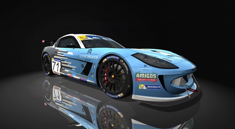 Ginetta GT4 SuperCup Skin Pack & Texture Upgrade Patch Ginett15
