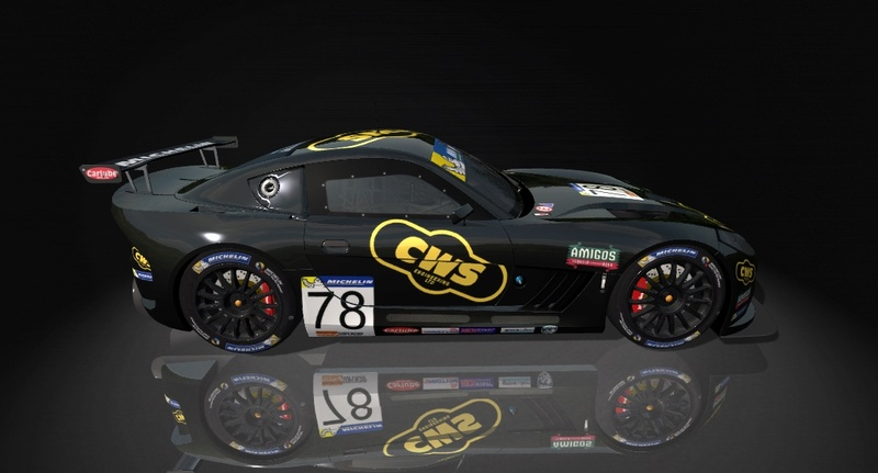 Ginetta GT4 SuperCup Skin Pack & Texture Upgrade Patch Ginett19