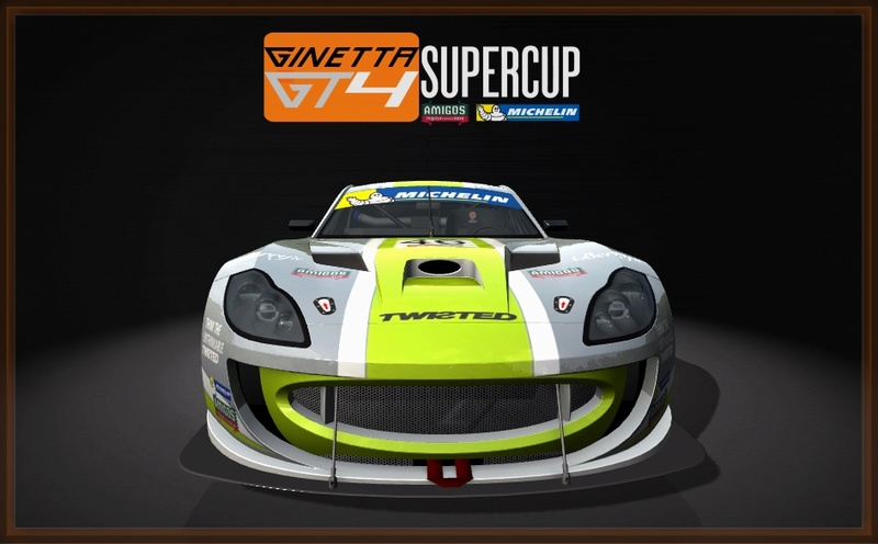 Ginetta GT4 SuperCup Skin Pack & Texture Upgrade Patch Ginett20
