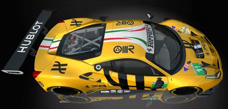 Porsche Cup Challenge with Ferrari GT3 & LeMans Lola Series add-on  Hublot11