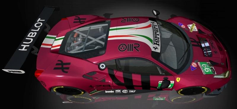 Porsche Cup Challenge with Ferrari GT3 & LeMans Lola Series add-on  Hublot12