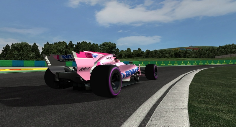 AMS track updates by Climax F1 Hungar16