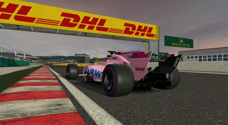 AMS track updates by Climax F1 Hungar19
