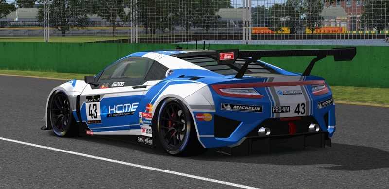 (RELEASE) Acura NSX GT3 - Page 10 Kcmg_m15