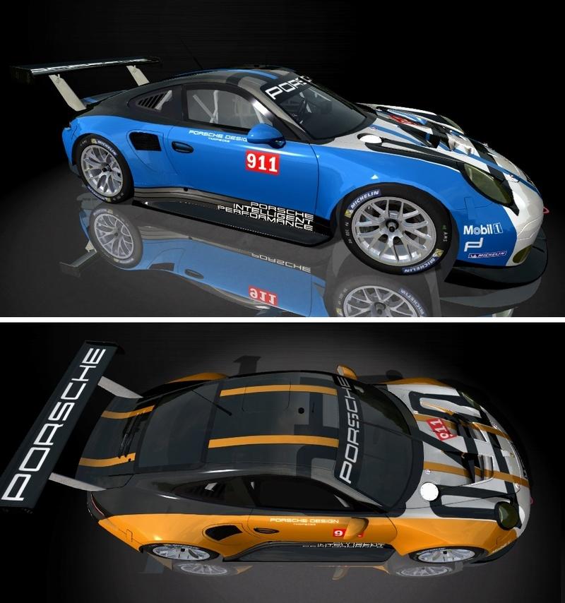 Porsche Cup Challenge with Ferrari GT3 & LeMans Lola Series add-on  Porsch11