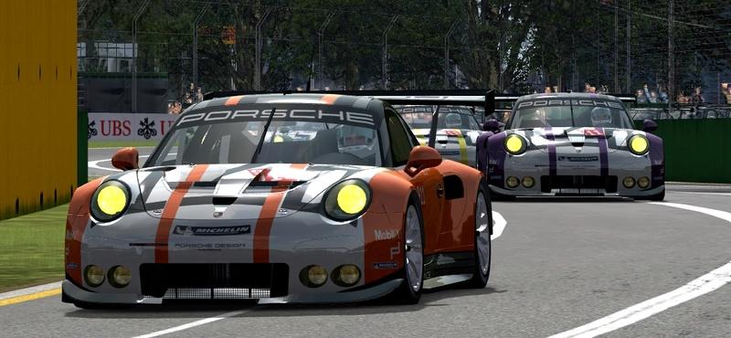 Porsche Cup Challenge with Ferrari GT3 & LeMans Lola Series add-on  Porsch14