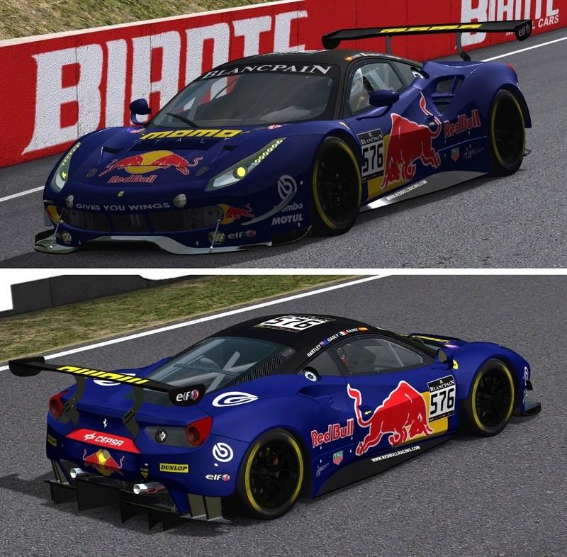 Porsche Cup Challenge with Ferrari GT3 & LeMans Lola Series add-on  Red_bu10