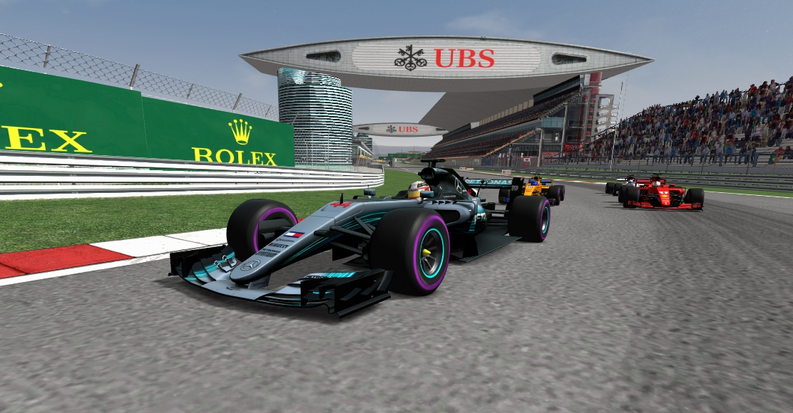AMS track updates by Climax F1 Shangh10