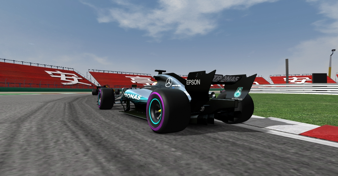 AMS track updates by Climax F1 Shangh14