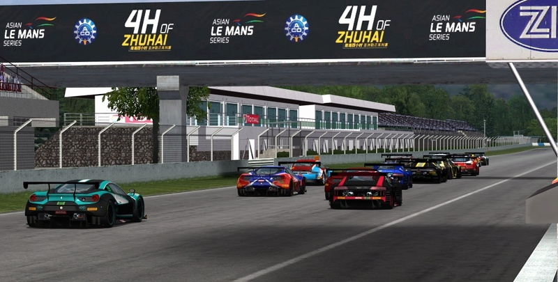 AMS track updates by Climax F1 Zhuhai18