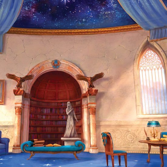 Ravenclaw's common room info Ravenc10