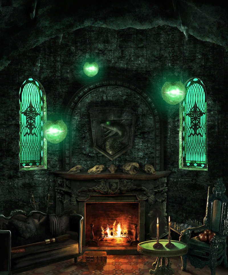 Slytherin's common room info Slythe10
