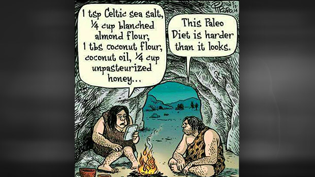 Humor, cartoons and pictures Paleo10