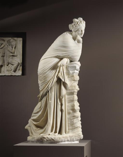 Polymnie et le drapé antique 4084310