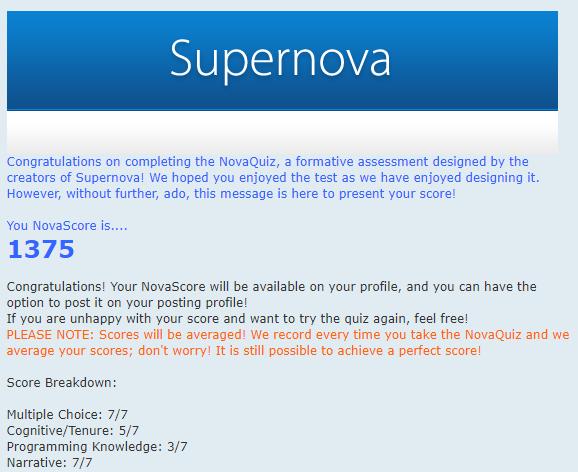 "Supernova 5.0.0 Update - ""Eternity"" Nsnoti10"