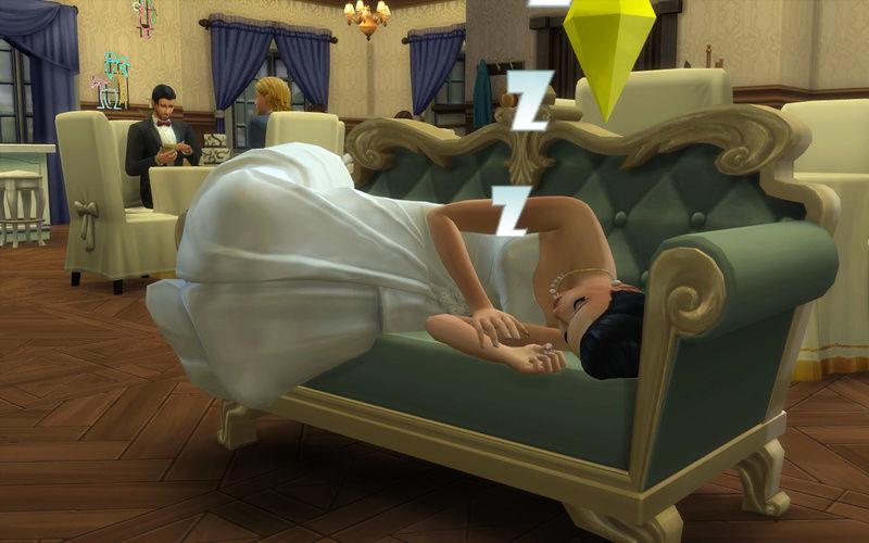 ** La novia durmiente! 02-04-10