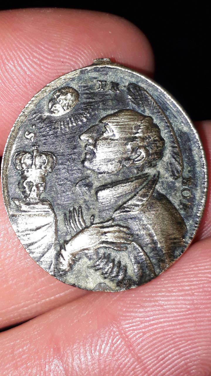 Identification médaille XVIII - Borgia? Mydail13