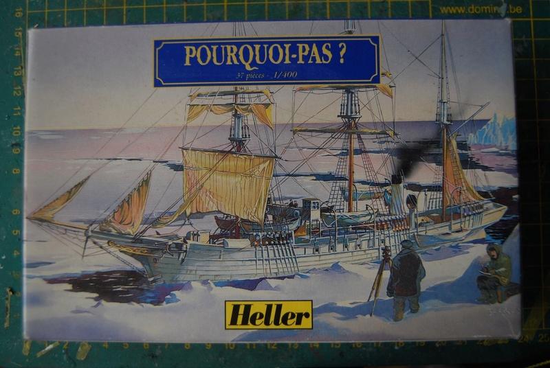 Navire d exploration POURQUOI PAS ? 1/400ème Réf 79861 Dsc_2332