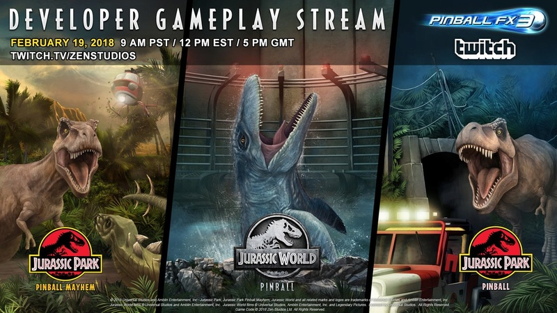 Nouveau pack de 3 tables : Jurassic World Pinball - Page 2 Dwz5td10