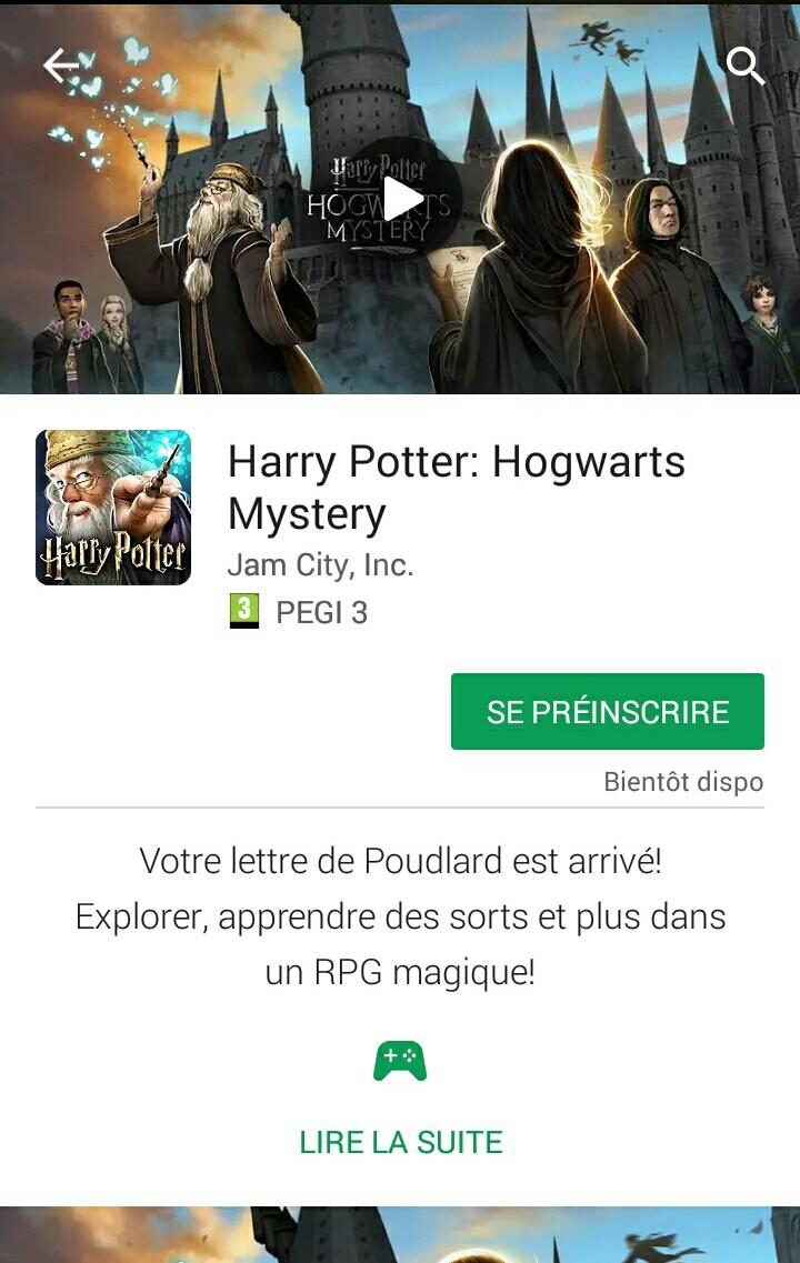 Jeu mobile : Harry Potter : Hogwarts Mystery !  Img_2010
