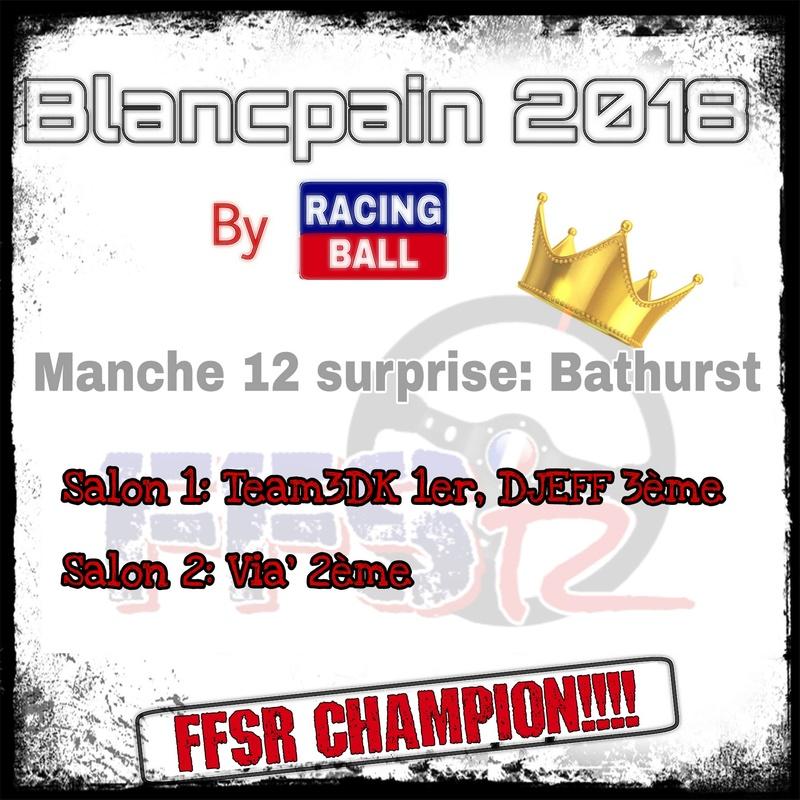 """Blancpain 2018 by """"Racing ball"""" Picsa105"""