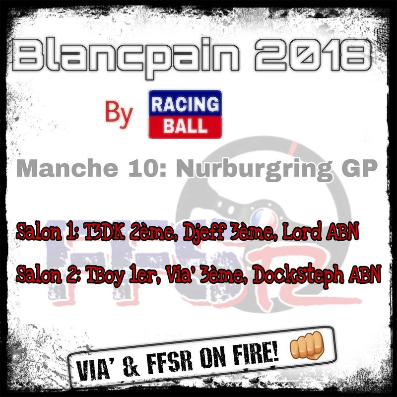 """Blancpain 2018 by """"Racing ball"""" Picsar98"""