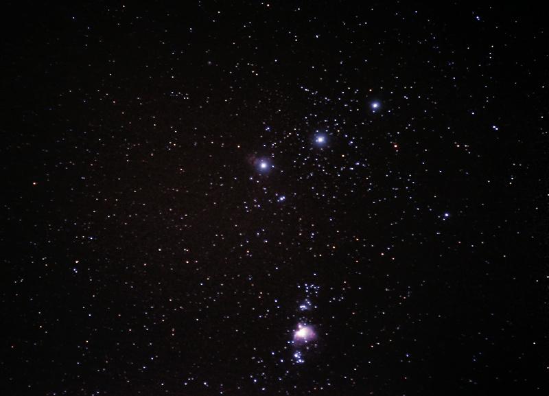 Nébuleuse d'Orion Orion210