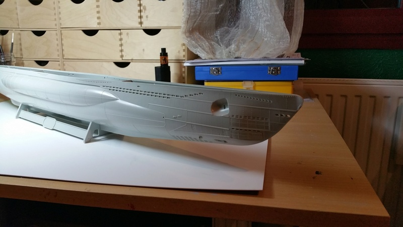 U-Boot VII C Revell 1/72 00111