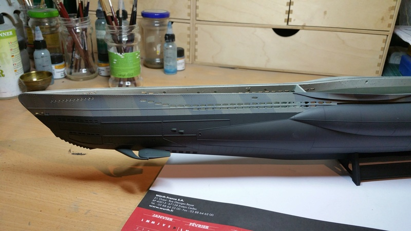 U-Boot VII C Revell 1/72 02410