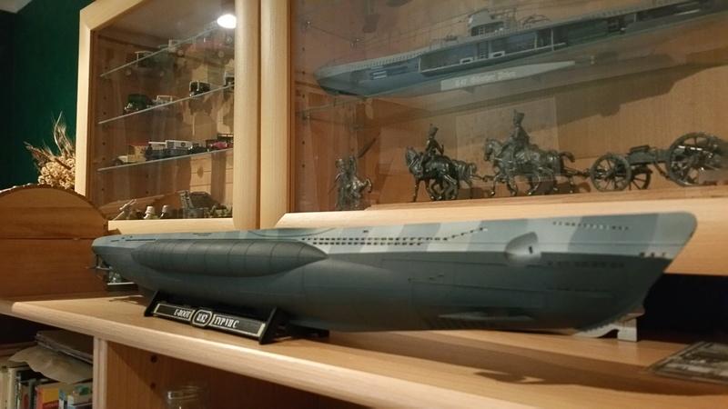 U-Boot VII C Revell 1/72 02610