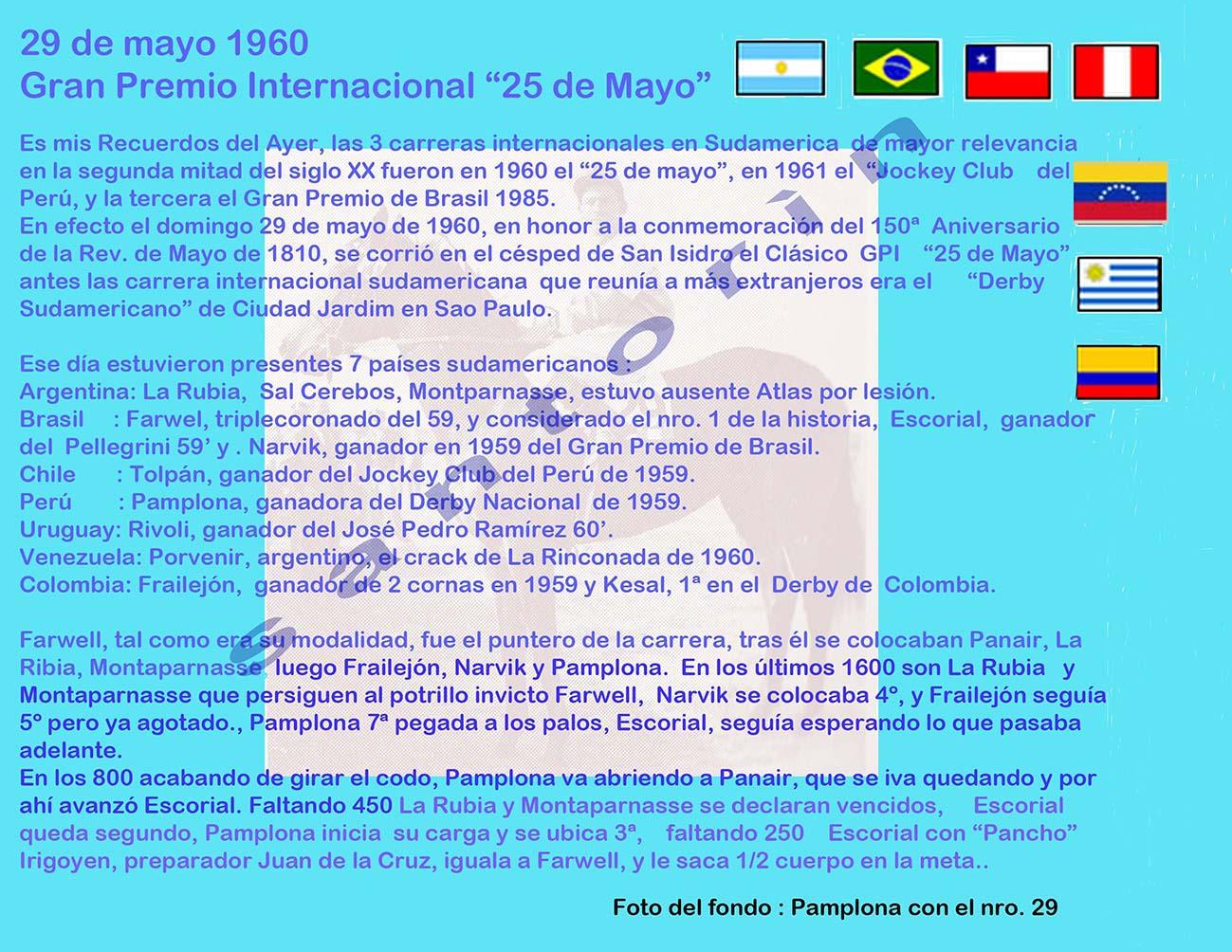 """2018 GP """"25 de mayo"""" 1960-r12"""