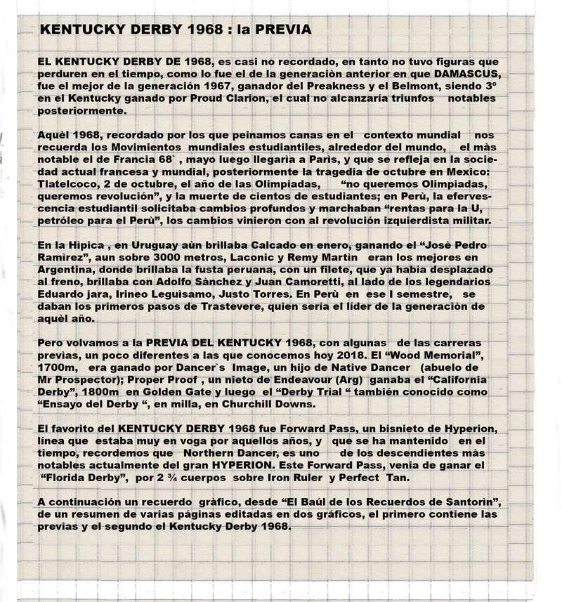 1968_ KENTUCKY DERBY : FORWARD PASS 1968-k11