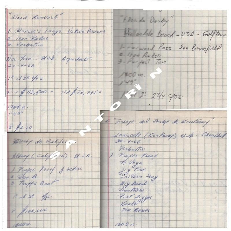 1968_ KENTUCKY DERBY : FORWARD PASS 1968_k10