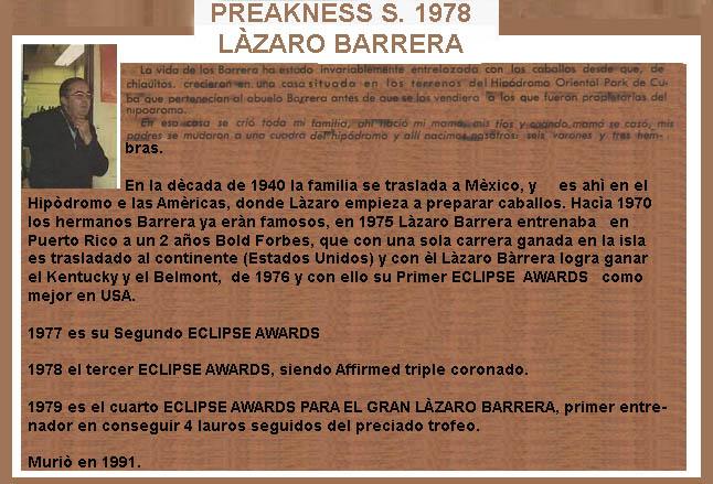 1978 - HACE 40 AÑOS - BELMONT STAKES - AFFIRMED TRIPLE CORONADO 1978-a15
