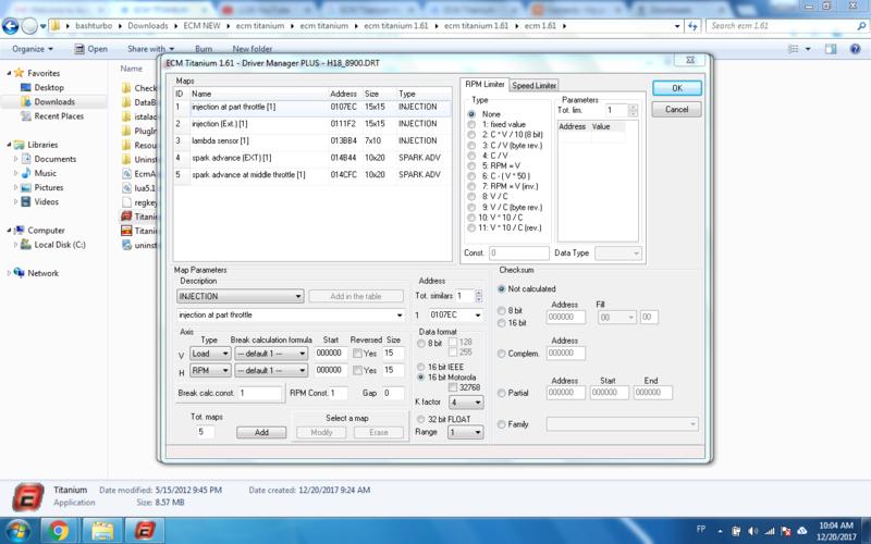ECM TITANIUM 1.61 with 26000+ Driver Multi-language  Modify10