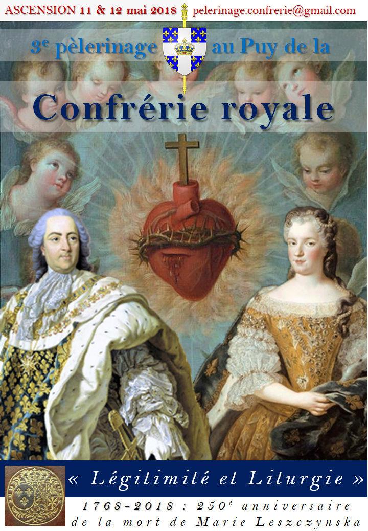Le 3e pèlerinage de la Confrérie Royale au Puy-en-Velay pour le Roi et la France 28309210