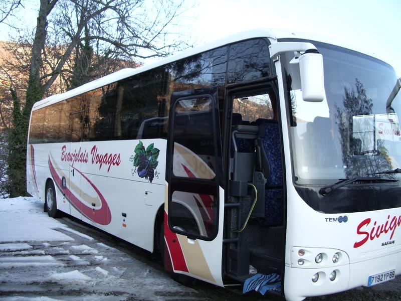 Cars Sivignon-Beaujolais Voyages 08110