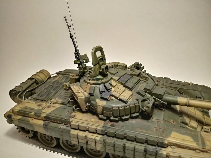 Т-72Б. 1/35. Звезда. 111