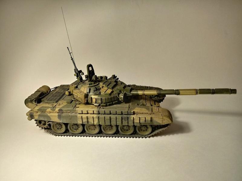Т-72Б. 1/35. Звезда. 213