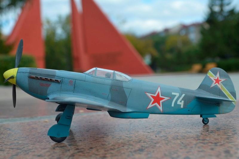 Як-3 14 ГвИАП ВВС Балтфлота. 1/48. Звезда 2dtvu_10