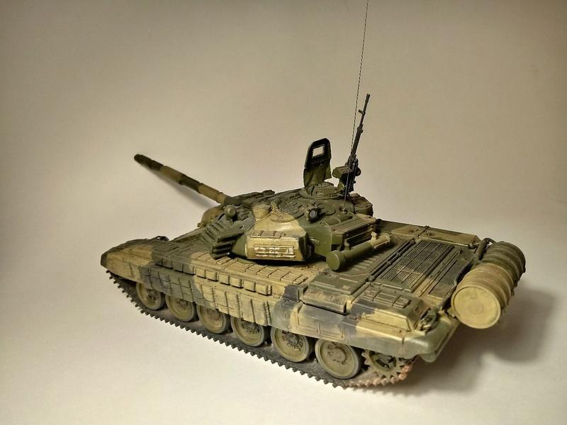Т-72Б. 1/35. Звезда. 312