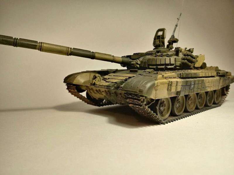 Т-72Б. 1/35. Звезда. 412