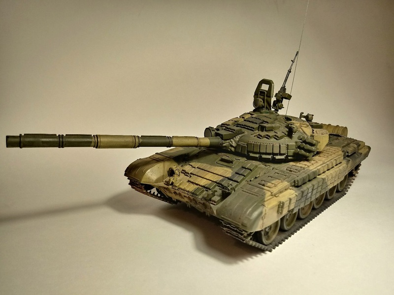 Т-72Б. 1/35. Звезда. 512