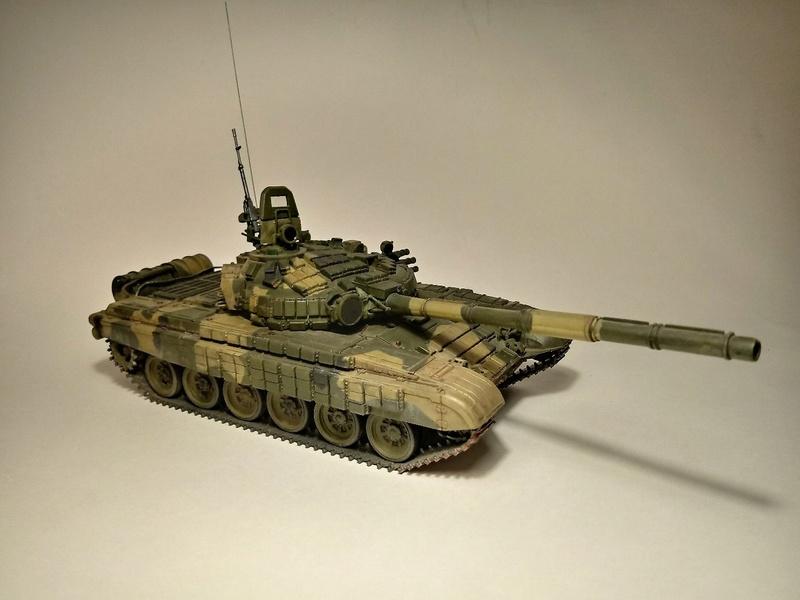 Т-72Б. 1/35. Звезда. 610