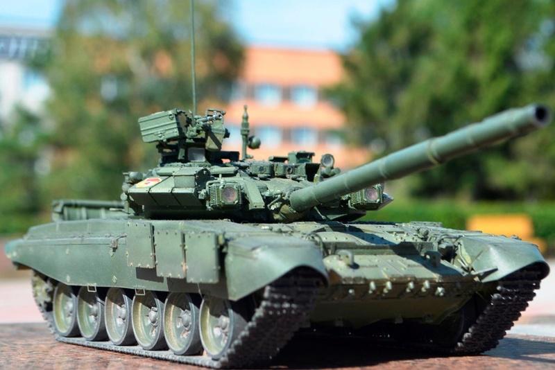 Т-90. 1/35. Звезда. _vk68w10
