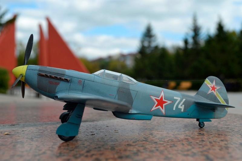Як-3 14 ГвИАП ВВС Балтфлота. 1/48. Звезда Adfenj10