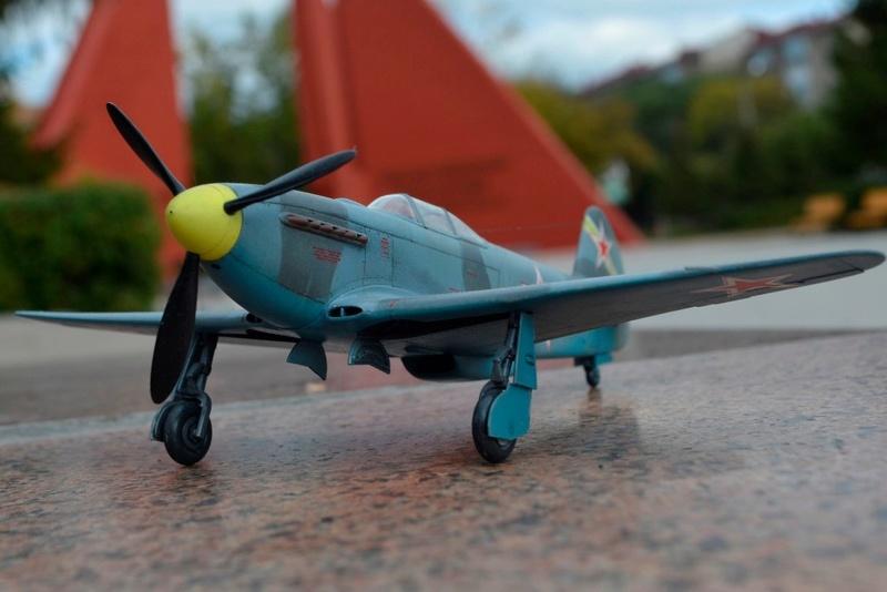 Як-3 14 ГвИАП ВВС Балтфлота. 1/48. Звезда Af55yx10