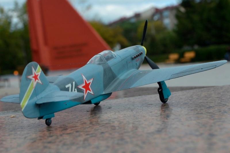 Як-3 14 ГвИАП ВВС Балтфлота. 1/48. Звезда Kv-tv810